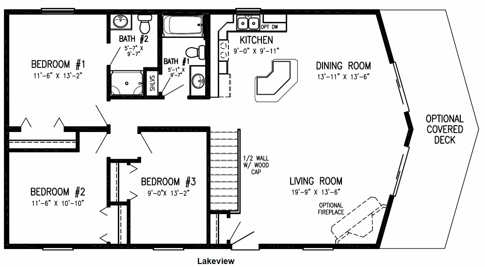 Floor Plan: Lakeview